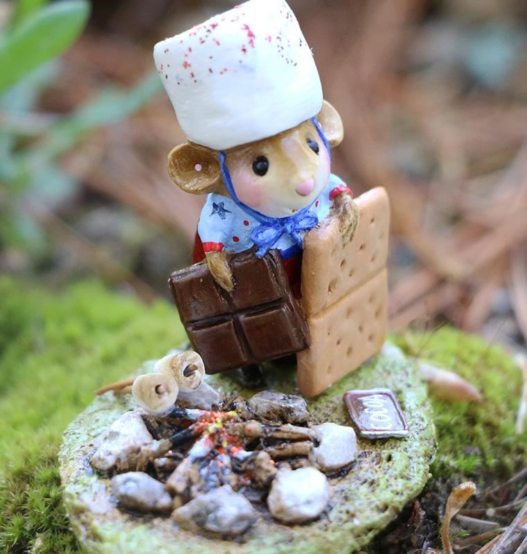 S'more Patriotism M-537a by Wee Forest Folk