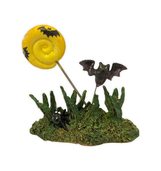 Moon & Bats Grass by Wee Forest Folk®