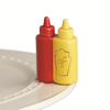 Main Squeeze (Ketchup/Mustard) Mini by Nora Fleming