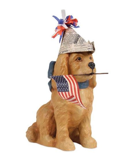 Americana Puppy by Bethany Lowe