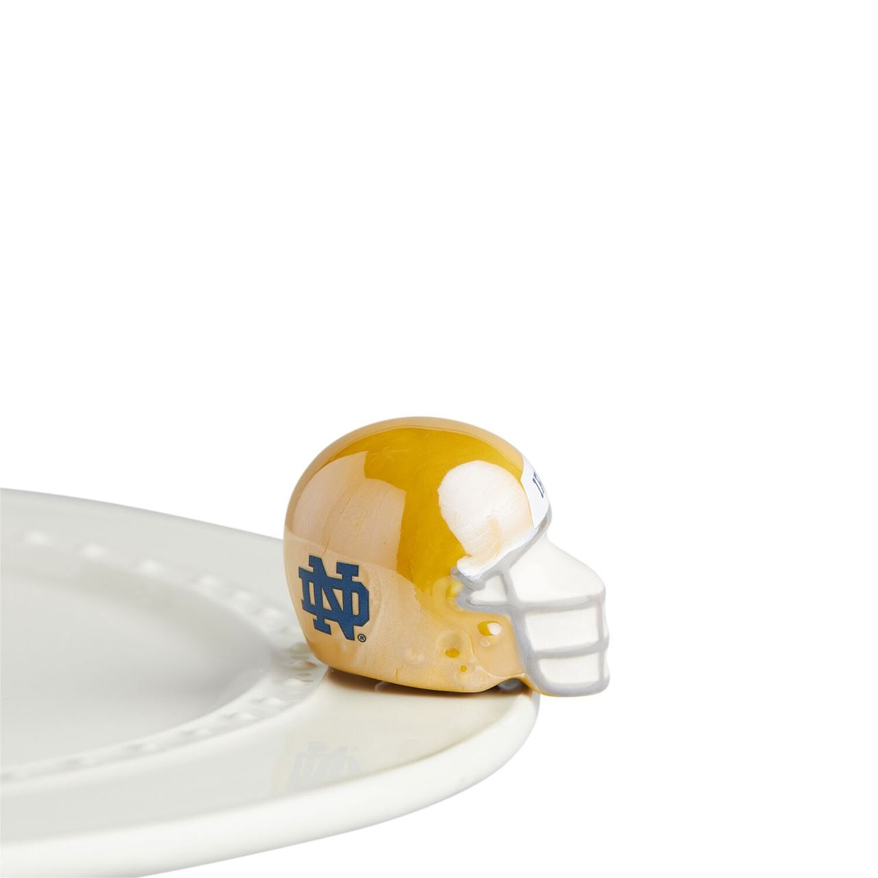 Notre Dame Helmet Mini by Nora Fleming