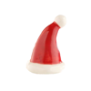Santa Stops Here (Santa Hat) Mini by Nora Fleming