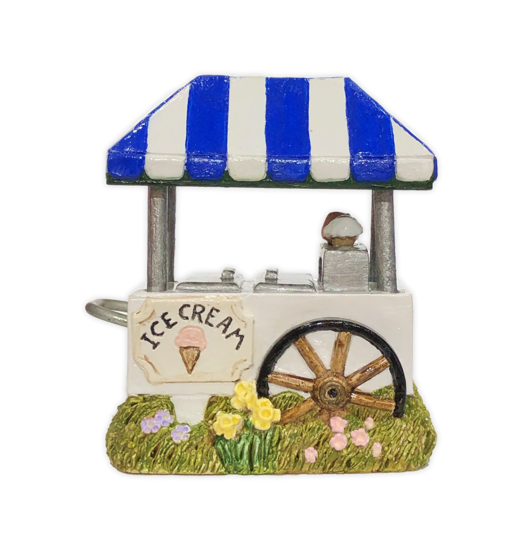 Ice Cream Cart (Royal Blue) by Habitat Hideaway
