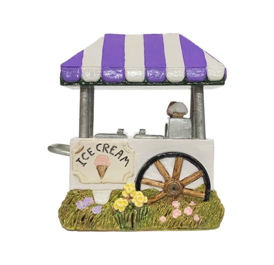 Ice Cream Cart (Purple) by Habitat Hideaway