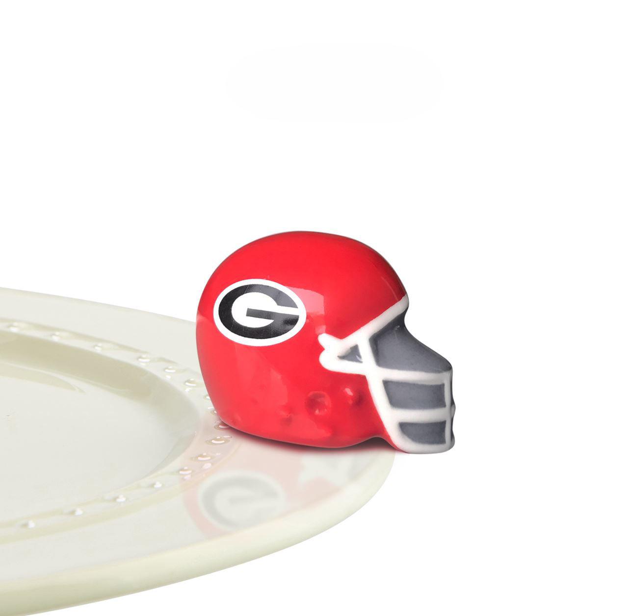 University of Georgia Helmet Mini by Nora Fleming