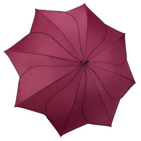Purple/Navy Swirl Umbrella by Galleria