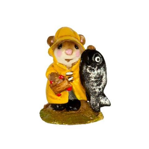 Mini Fisher Mouse M-041m By Wee Forest Folk®