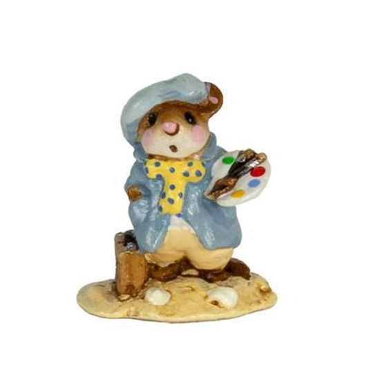Mini Arty Mouse M-071m By Wee Forest Folk®