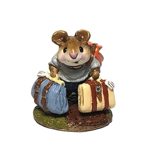 Mini Traveling Mouse M-110m By Wee Forest Folk®