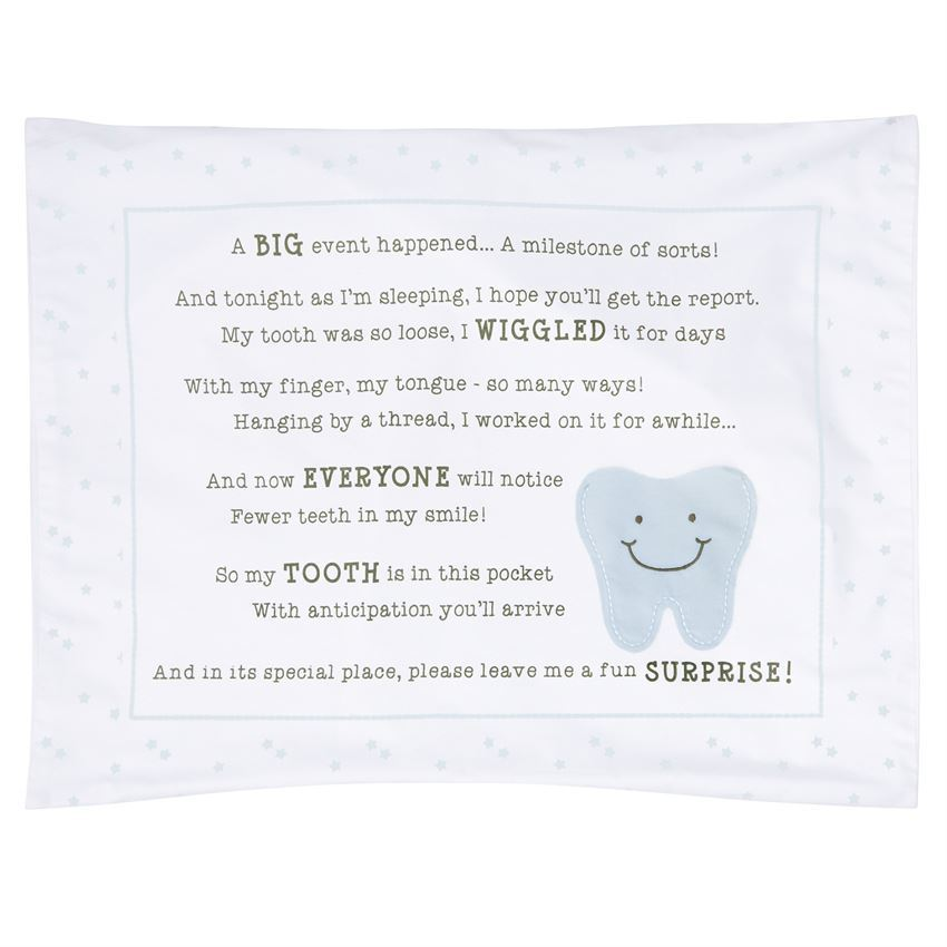 Tooth Fairy Pillowcase by Mudpie