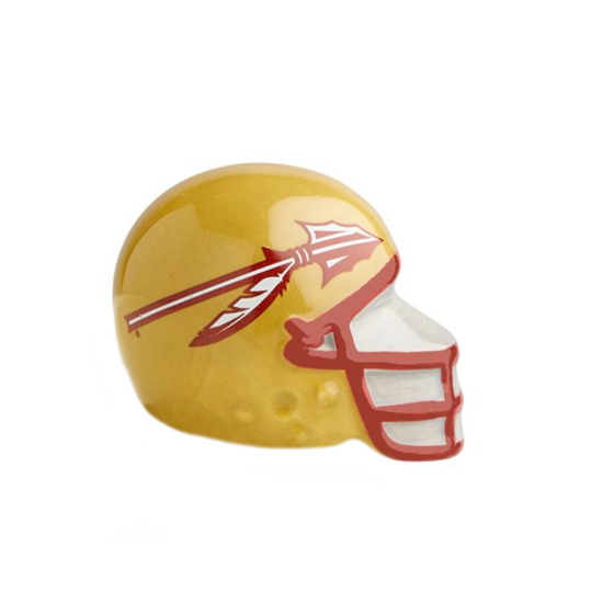 Florida State Helmet Mini by Nora Fleming