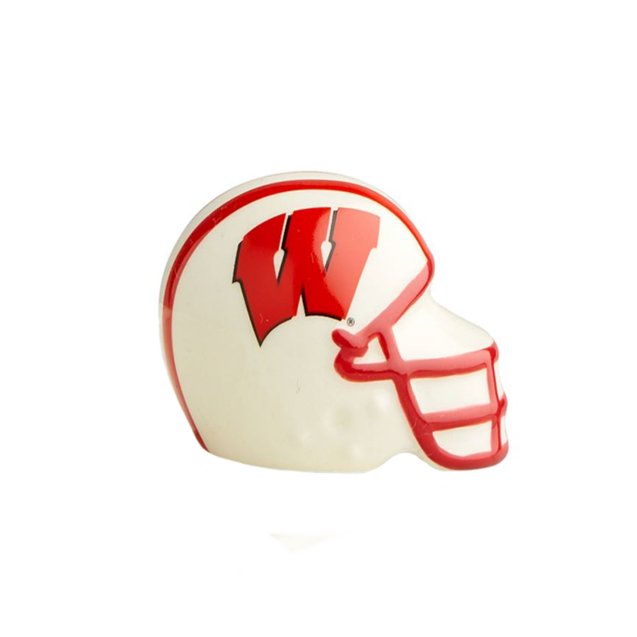 University of Wisconsin Helmet Mini by Nora Fleming