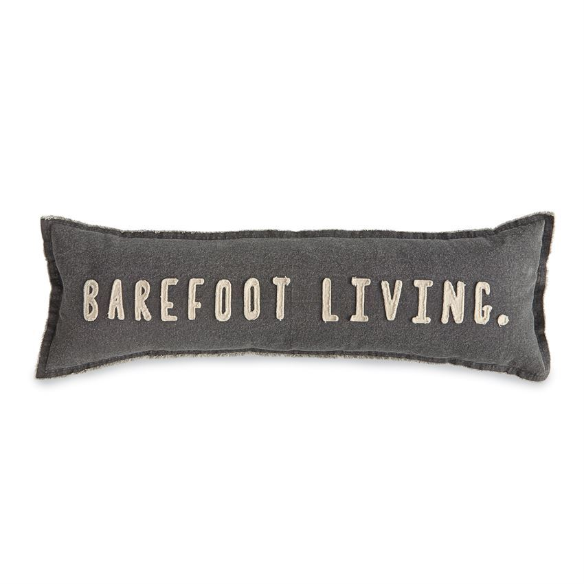 Barefoot Living Pillow by Mudpie