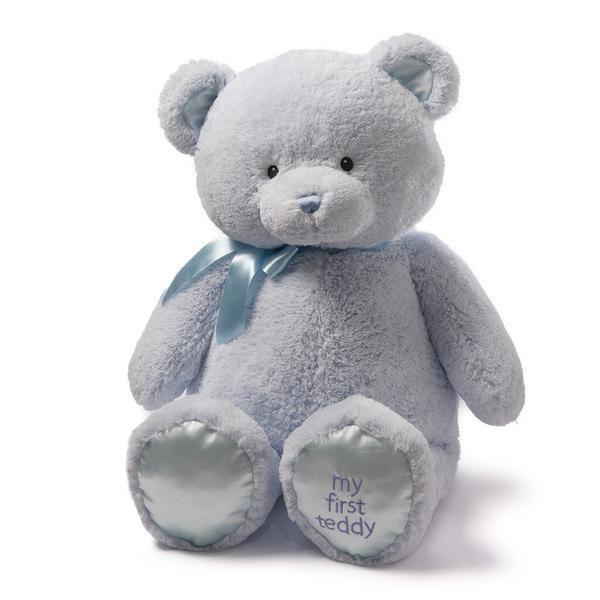 """My 1st Teddy Blue 36"""" by Gund"""