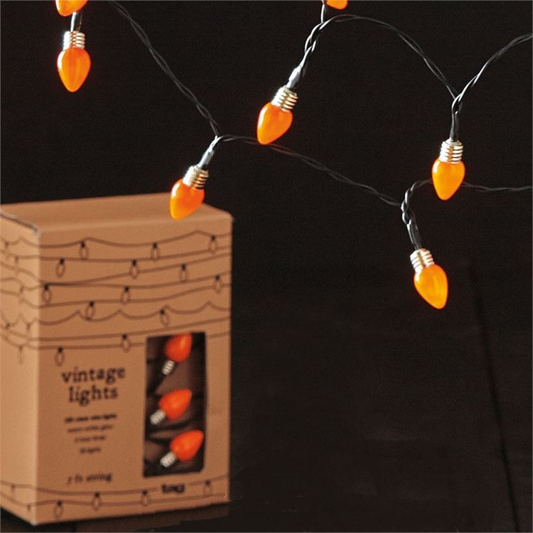 Vintage Bulbs LED String Lights by TAG