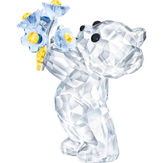 Kris Bear - Forget-Me-Knot by Swarovski