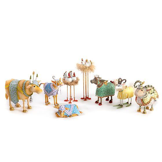Manger Ram Figure by Patience Brewster