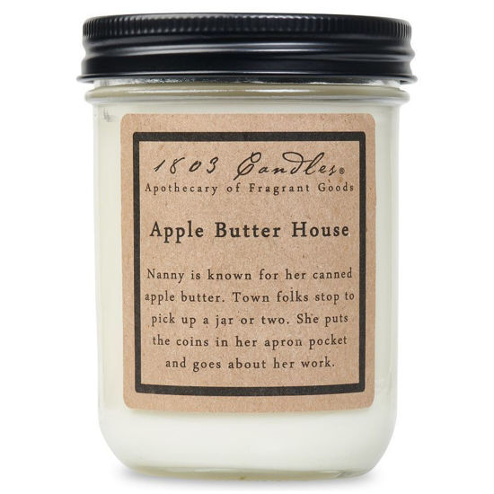 Apple Butter House Jar by 1803 Candles