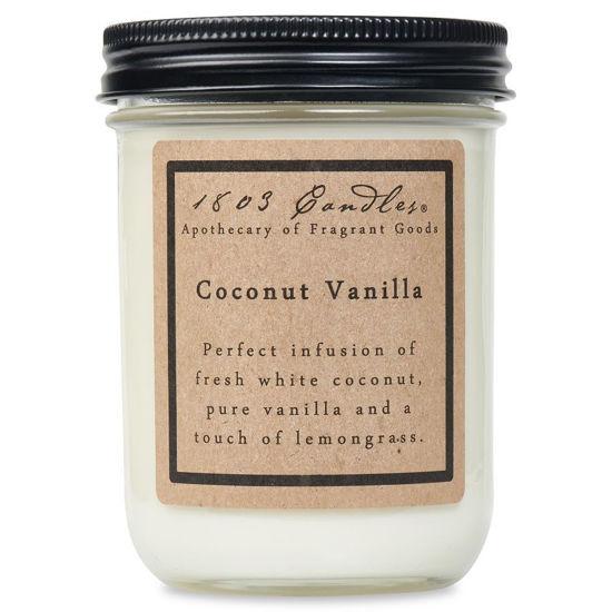 Coconut Vanilla Jar by 1803 Candles