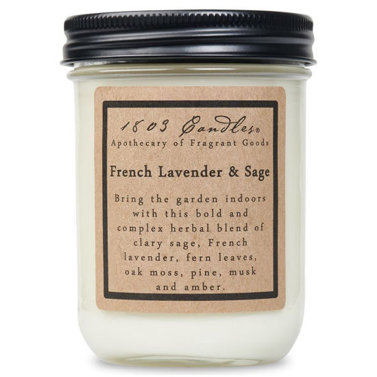 French Lavender & Sage Jar by 1803 Candles