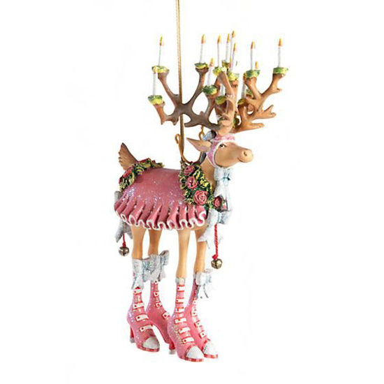 Dash Away Donna Ornament by Patience Brewster