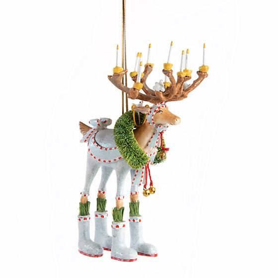 Dash Away Dasher Ornament by Patience Brewster