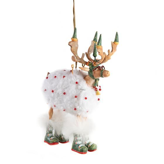 Dash Away Blitzen Ornament by Patience Brewster