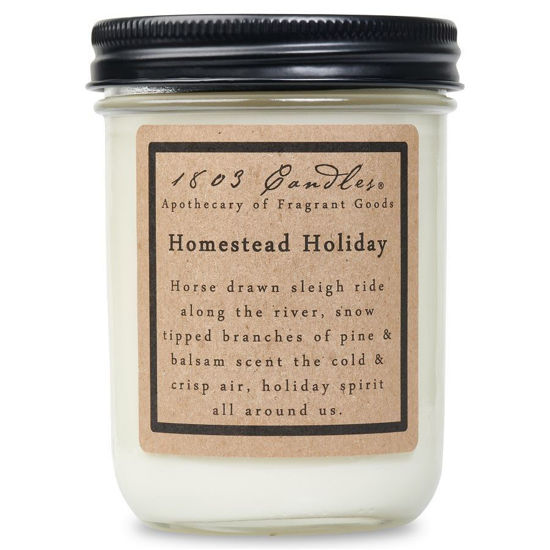 Homestead Holiday Jar by 1803 Candles