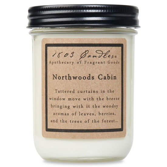 Northwoods Cabin Jar by 1803 Candles
