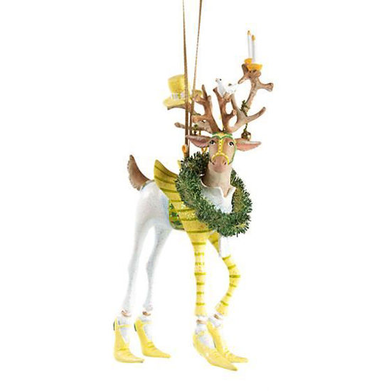 Dash Away Prancer Ornament by Patience Brewster