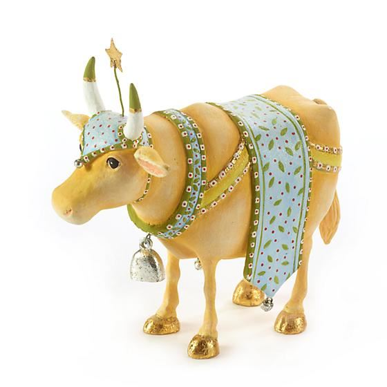 Manger Cow Figure by Patience Brewster