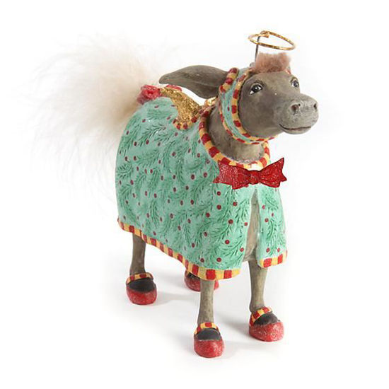 David Donkey Ornament by Patience Brewster