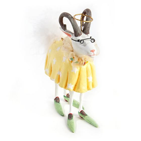 Nanny Goat Ornament by Patience Brewster