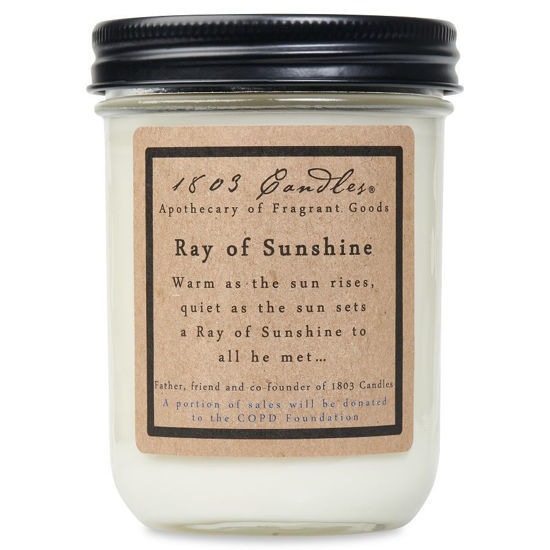 Ray of Sunshine Jar by 1803 Candles