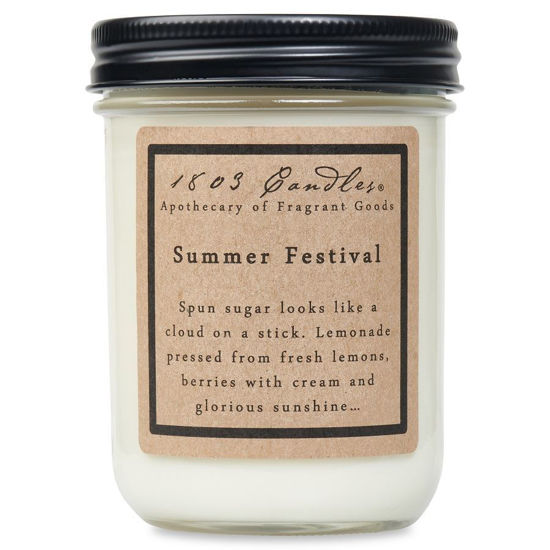 Summer Festival Jar by 1803 Candles