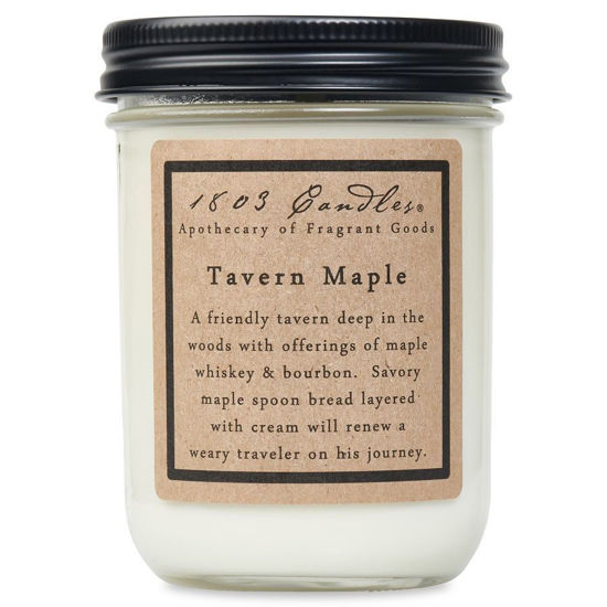 Tavern Maple Jar by 1803 Candles