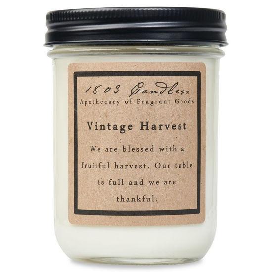 Vintage Harvest Jar by 1803 Candles
