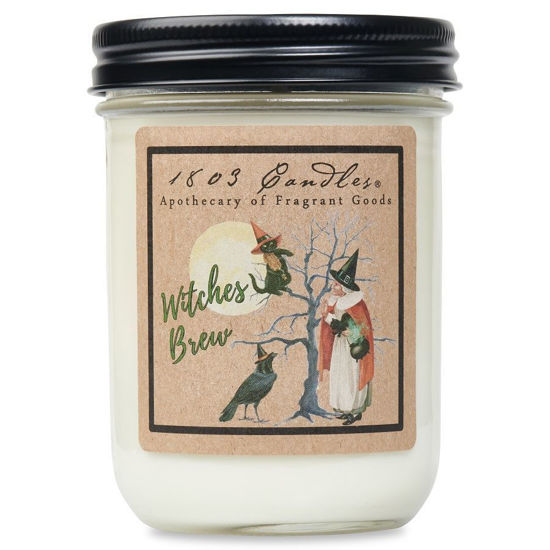 Witches Brew Jar by 1803 Candles
