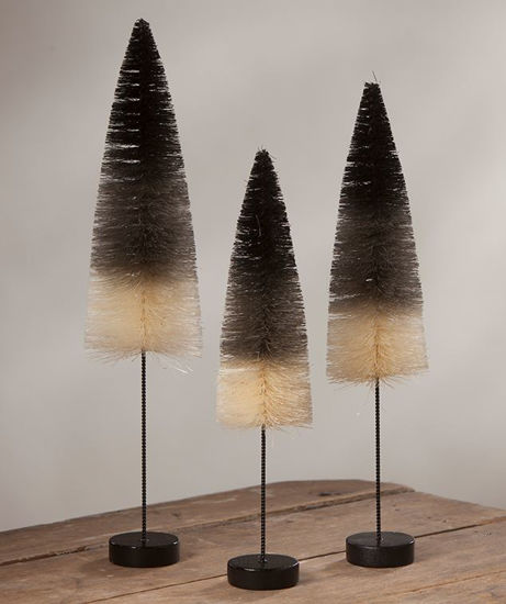 Black and White Ombre Trees by Bethany Lowe Designs