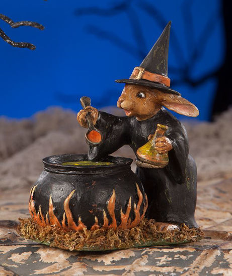 Rabbit Witch by Bethany Lowe Designs