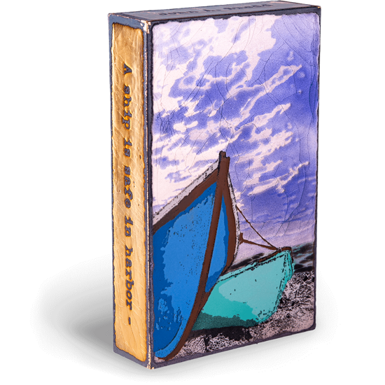 Sea Worthy Spiritile by Houston Llew