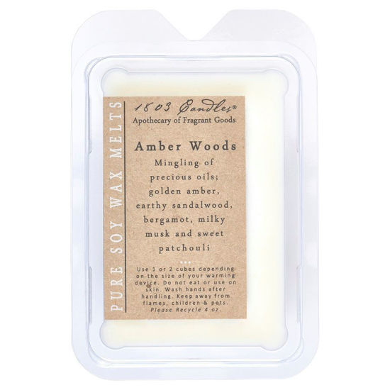 Amber Woods Melters by 1803 Candles