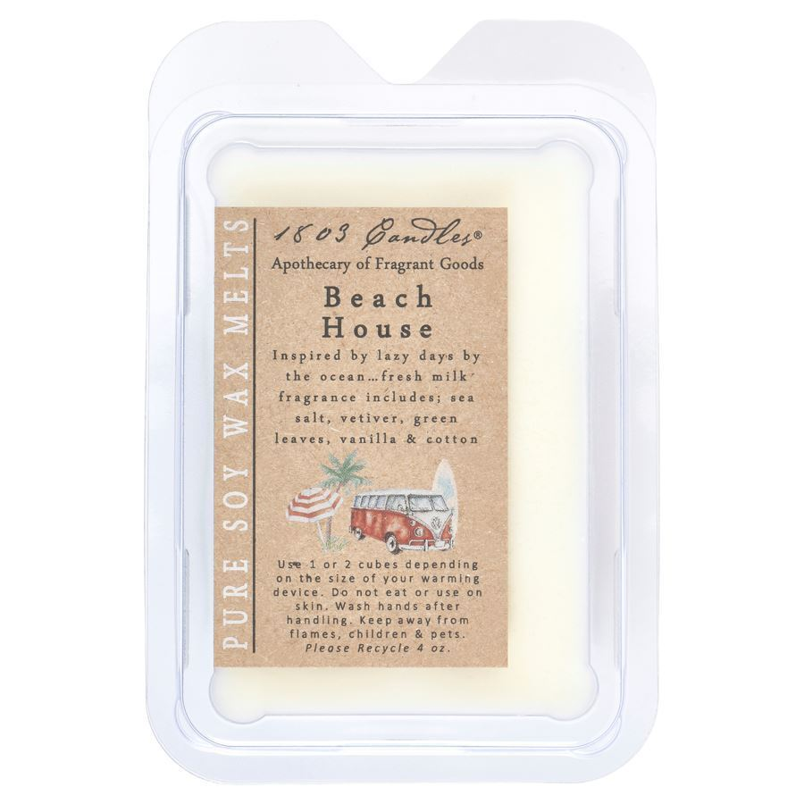 Beach House Melters by 1803 Candles