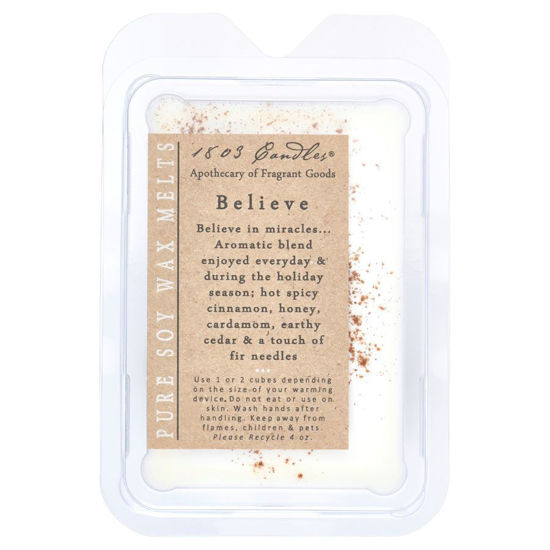 Believe Melters by 1803 Candles
