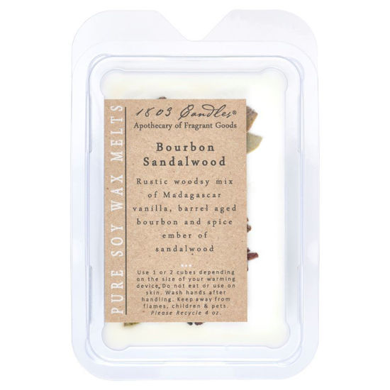 Bourbon Sandalwood Melters by 1803 Candles