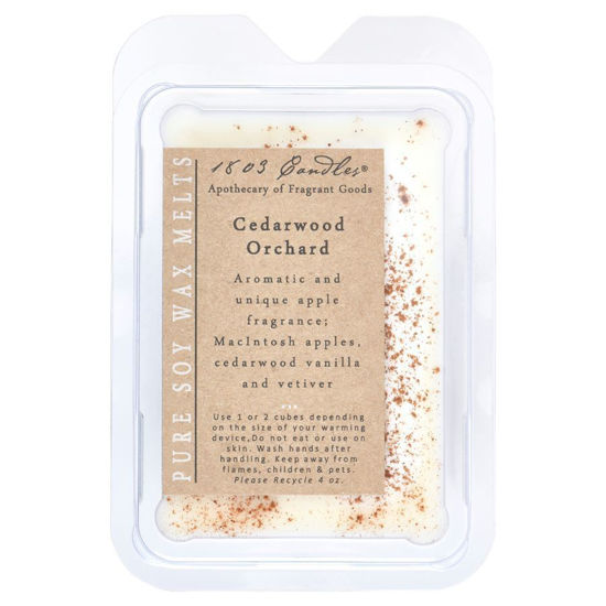 Cedarwood Orchard Melters by 1803 Candles
