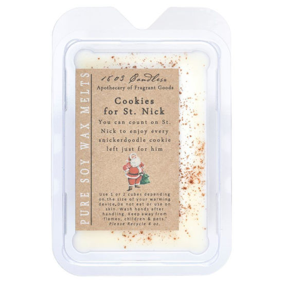 Cookies for St. Nick Melters by 1803 Candles