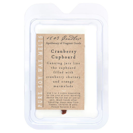 Cranberry Cupboard Melters by 1803 Candles