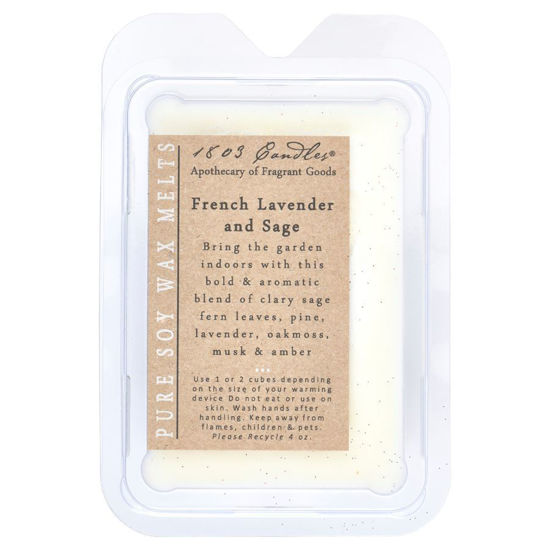 French Lavender & Sage Melters by 1803 Candles