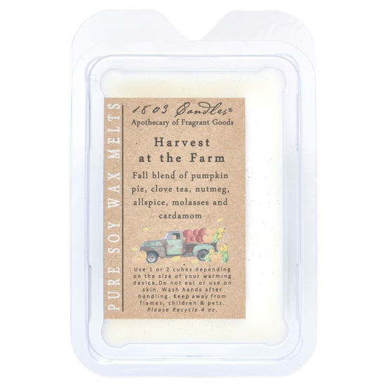 Harvest at the Farm Melters by 1803 Candles